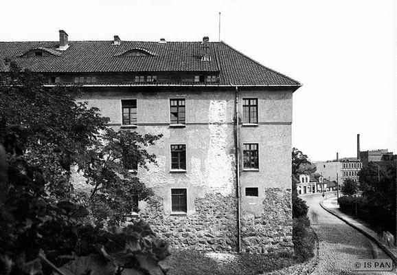 Insterburg, Altes Schloss - Teilansicht des Südwestflügels des Haupthauses