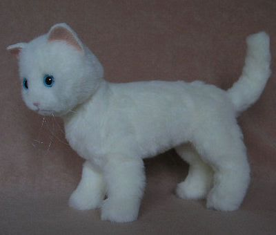 White cat pattern