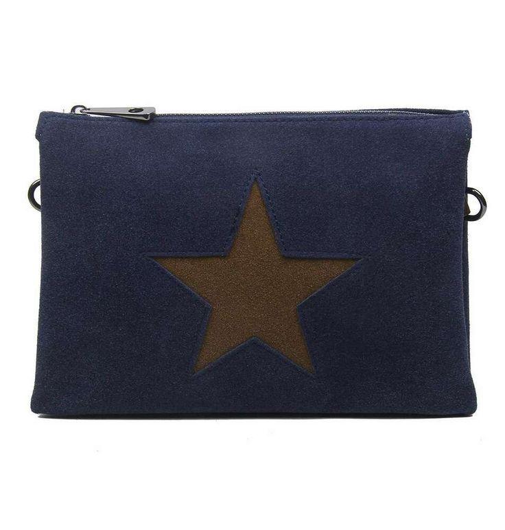 [Werbung] DAMEN TRIO CLUTCH STERN ABEND-HAND-TASCHE Schultertasche Cross-Bag Led… – Italyshop24.com