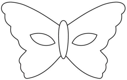 telecharger masque carnaval papillon