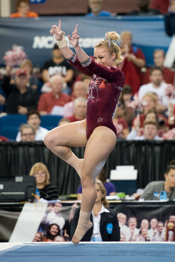 University of Alabama  Gymnastics Competition Worn Skirt Size 6