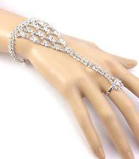 Fashion Silver Tone Bohemian Clear Rhinestone Cascade Hand Chain Ring  Bracelet http://www.ebay.com/itm/Fashion-Silver-Tone-Bohemian-Clear-Rhinestone-Cascade-Hand-Chain-Ring-Bracelet-/141608385107?pt=LH_DefaultDomain_0&hash=item20f8847a53