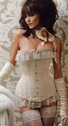 28 best bridal lingerie images on pinterest bridal for Wedding dress corset bra
