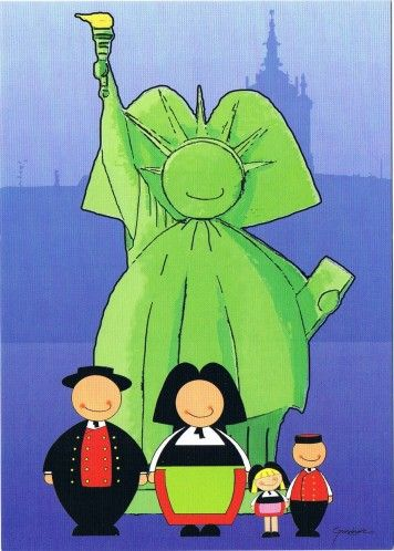 Hommage à Bartholdi ... David Grandmaire.
