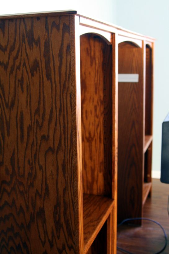 IHeart Organizing: Painted Entertainment Center and How To!