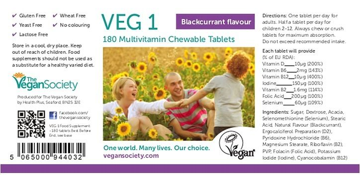 Vitamins, minerals and nutrients | The Vegan Society