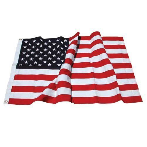 American Flag 3ft x 5ft Cotton -US Flag Store by US Flag Store. $15.92. Top quality cotton USA flag. Made from densely woven heavy cotton fabric. Sewn stripes and embroidered stars. These are the most attractive flags for indoor display and are not designed for use outdoors. Rich vibrant colors. Top quality cotton USA flag made for Online Stores. Made from densely woven heavy cotton fabric, with rich vibrant colors. These are the most attractive flags for indoor display. The...