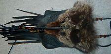 Mountain Man  SILVER FOX Neck Bag  Medicine pouch Fur hat FCF Possibles