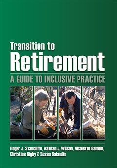 Transition to retirement : a guide to inclusive practice. Retirement is a major transition in anyone's life and change of this magnitude often arouses anxiety. This is much more so for people with disability, particularly intellectual disability. But this manual shows, it doesn't have to be like that. Available from Campbelltown campus library. #retirement #disability #anxiety #agedcare