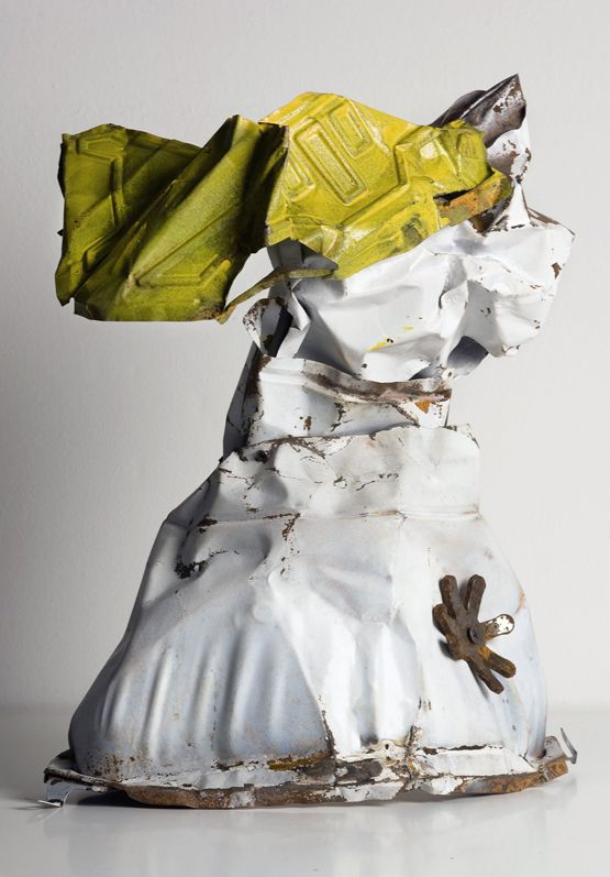 Gio Schiano - scultura in ferro riciclato - scultura contemporanea