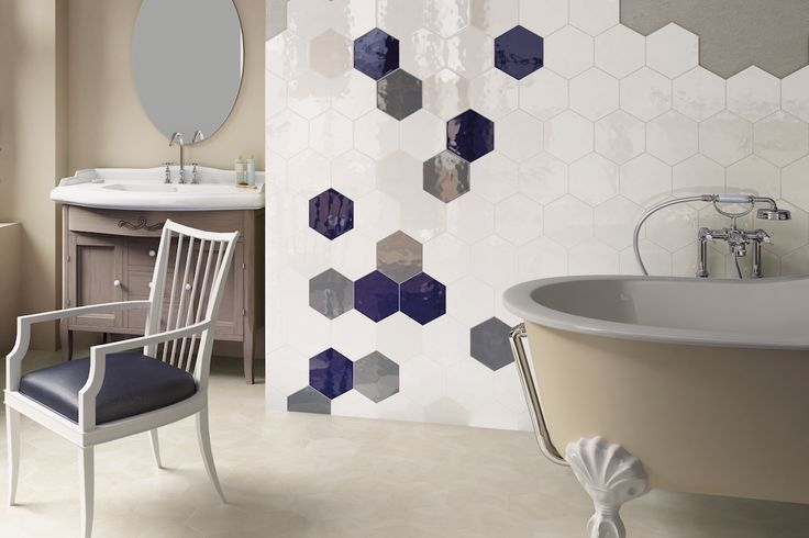 Badezimmer HEXAGON