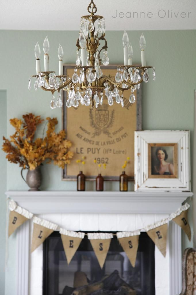 Fall mantel 63 best Fall Mantles images