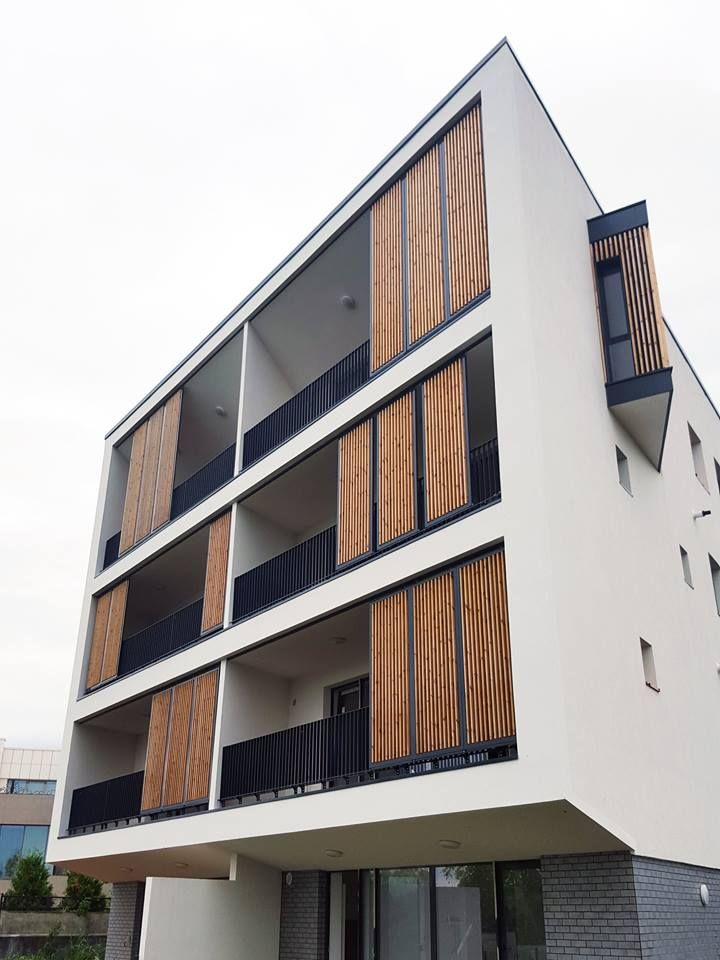 point zero architecture my work wood details residencial shading