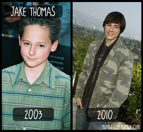 Jake Thomas- You may remember him as Matt from Lizzie McGuire...quite the cutie today