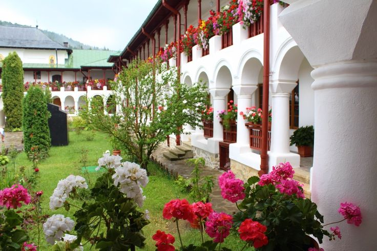Beautiful Agapia Monastery in Bucovina, Romania.