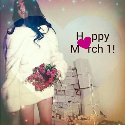 H♡PPY M♡RCH!