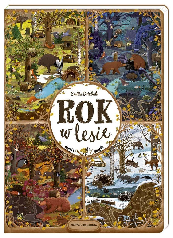 Rok w lesie -   Dziubak Emilia , tylko w empik.com: 42,49 zł. Przeczytaj recenzję Rok w lesie. Zamów dostawę do dowolnego salonu i zapłać przy odbiorze!