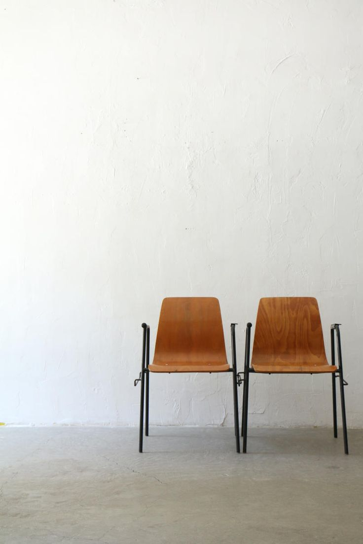 1960s French school chair | sold by unplugged