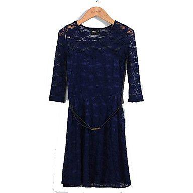 Vrouwen kanten jurk - EUR € 20.59