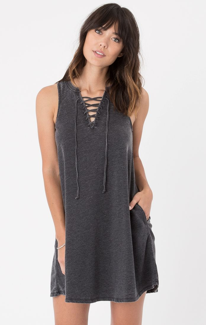 All Tied Up Dress by Z Supply (Black)