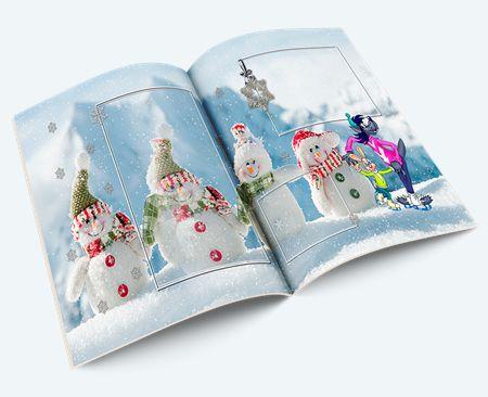 Фотоальбом для семейных новогодних и детских фотографий