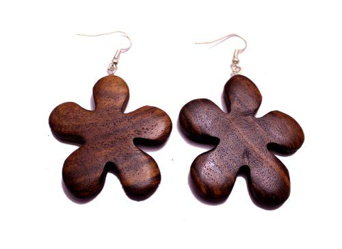A Pair of Organic Fashion Fake Coconut Wood Treditional Wooden Earrings Sew_747 Krishna Mart India http://www.amazon.com/dp/B00IQ7XOKW/ref=cm_sw_r_pi_dp_lcKJvb0G58THV