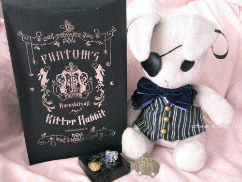 FuntomBitter Rabbit, Funtom Brooch and Ciel Phantomhive rings ~