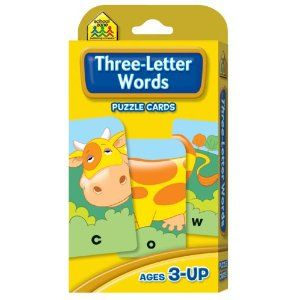 Three-Letter Words Flash Cards (Cards)Zone Publishing, Schools Ideas, Flash Cards, Schools Zone, Cards Cards, Puzzles Cards, Publishing Company, Company Staff, Three Letteing