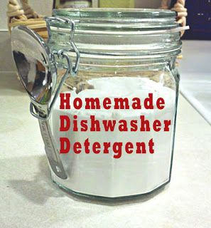 Homemade Dishwasher Detergent Revised | One Good Thing by Jillee - explanations about why one uses certain ingredients