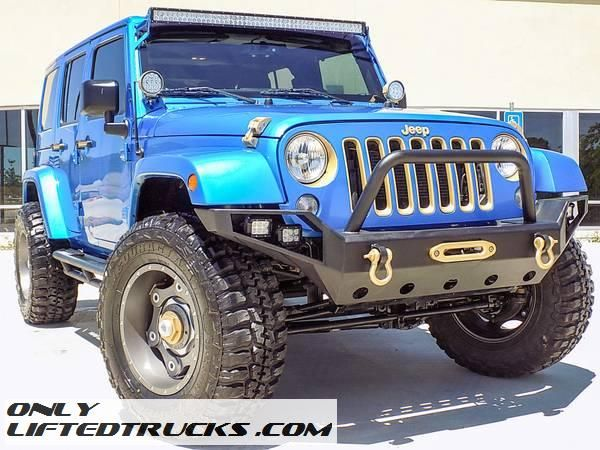 2016 Jeep Wrangler Unlimited Sahara Lifted