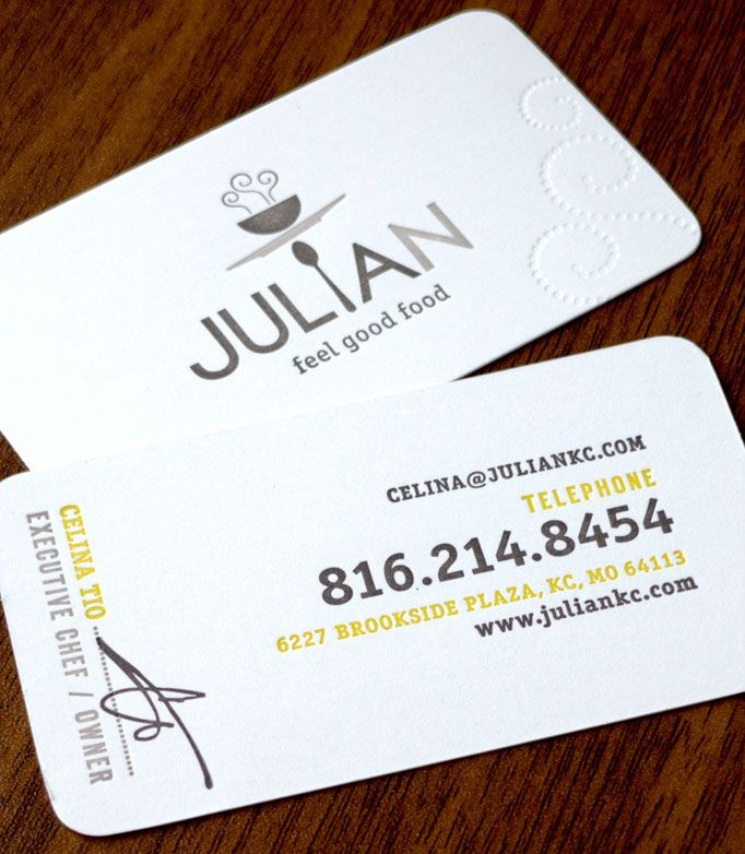 40 best Business Cards images on Pinterest | Business cards, Visit ...