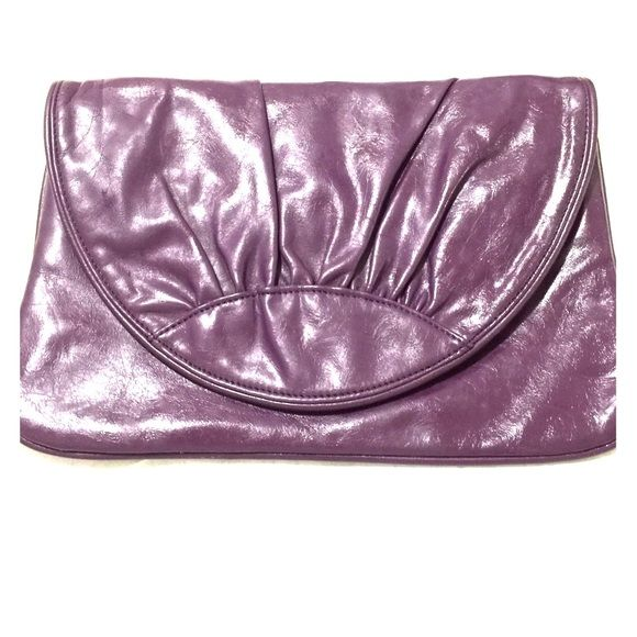 Purple clutch bag Good condition.. Lulu Townsend Bags Clutches & Wristlets