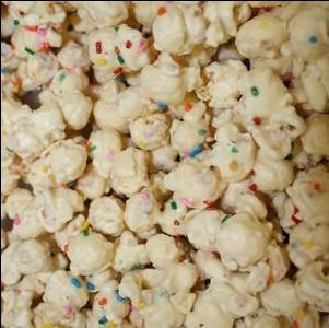 Birthday Cake Popcorn - Nikki's Popcorn Company Dallas, TX
