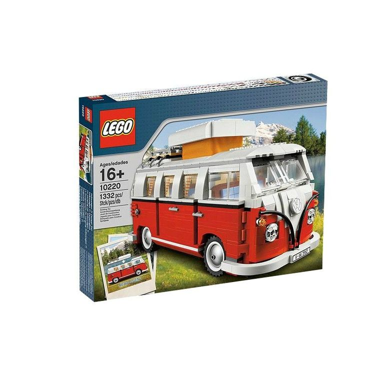 #Lego #LEGO® #10220   LEGO Hard to Find Items Volkswagen T1 Campingbus  Männlich Rot Weiß Transport     Hier klicken, um weiterzulesen.  Ihr Onlineshop in #Zürich #Bern #Basel #Genf #St.Gallen