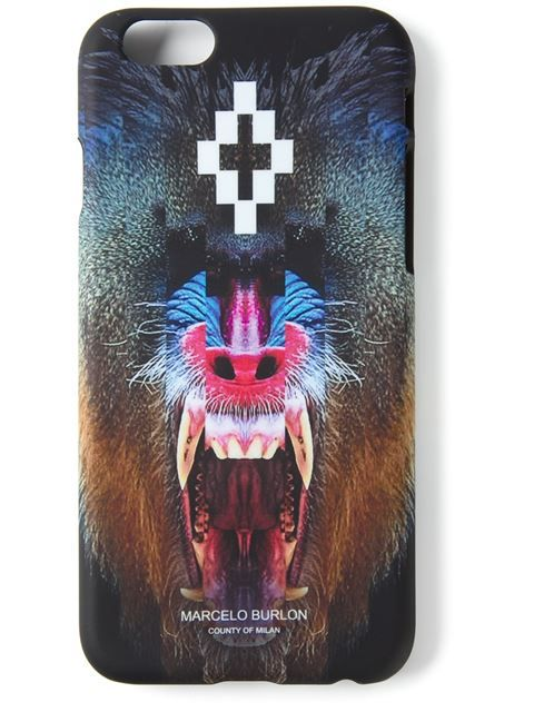 Shoppen Marcelo Burlon County Of Milan iPhone 6 Plus-Hülle mit Pavian-Print von Mantovani from the world's best independent boutiques at farfetch.com. Over 1500 brands from 300 boutiques in one website.
