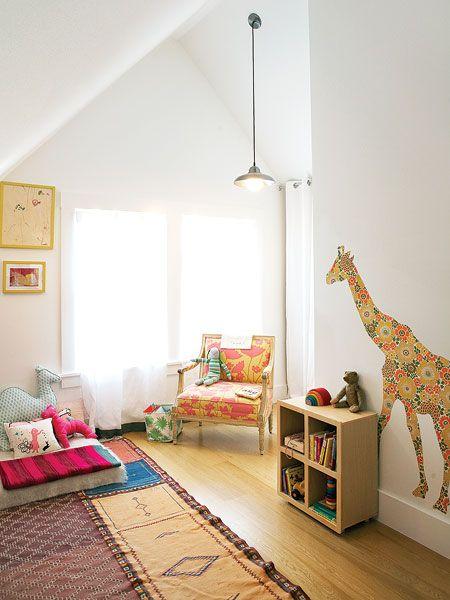 { montessori style bed } Giraf for walls