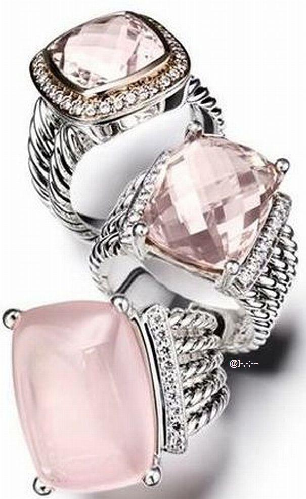 David Yurman #rings ~ Colette Le Mason @}-,-;---