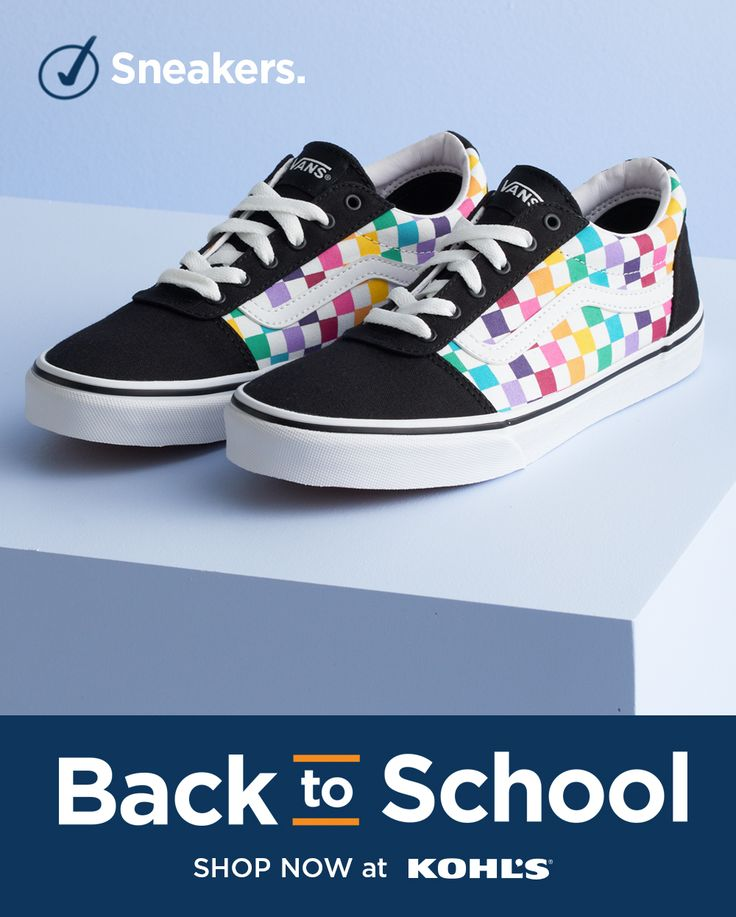 Find their new favorite sneakers at Kohl's. Help them start