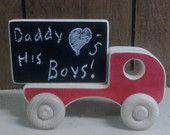 Camion giocattolo in legno - pubblicità camion