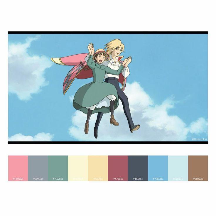 #61, 2004 하울의 움직이는 성, 미야자키 하야오 Howl's Moving Castle, Hayao Miyazaki ハウルの動く城, 宮崎駿 #영화 #하울의움직이는성 #HowlsMovingCastle #HayaoMiyazaki #ハウルの動く城 #宮崎駿 #film #cinema #movie #incolors #colorpalette #filmpalette #cinemapalette  via ✨ @padgram ✨(http://dl.padgram.com)
