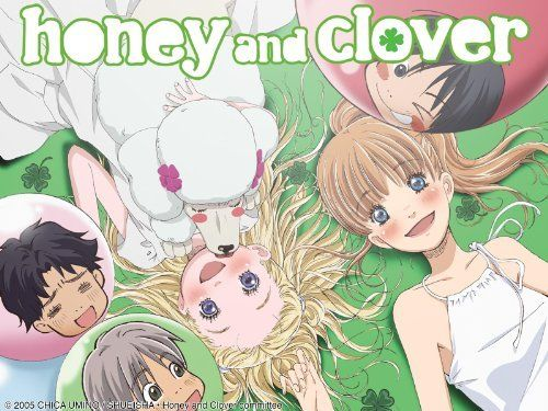 Honey and Clover Anime I saw someone fall in love for the first time..