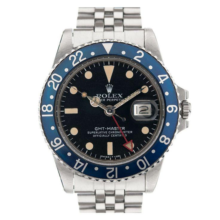 GMT blue bezel