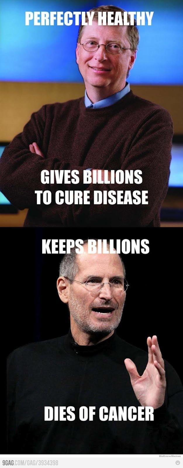 Bill Gates vs. Steve Jobs