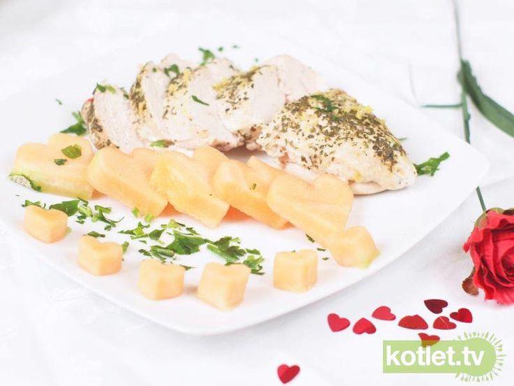 Kurczak cytrynowy z lubczykiem