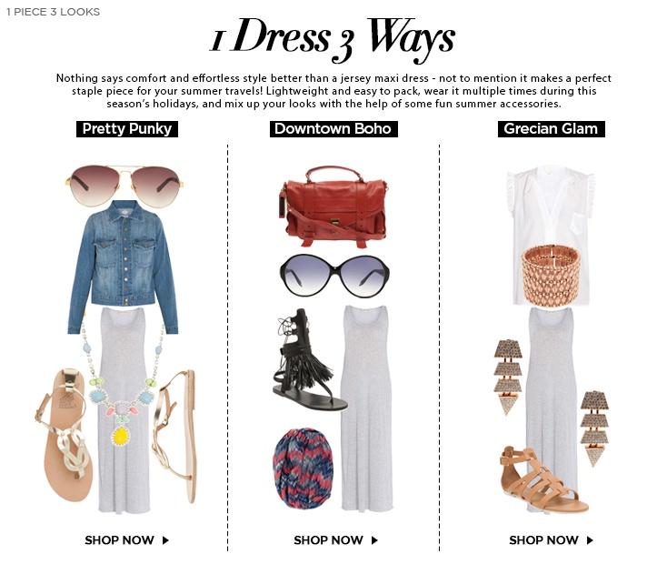 1 DRESS 3 WAYS | Boutique1 – Fashion Insider