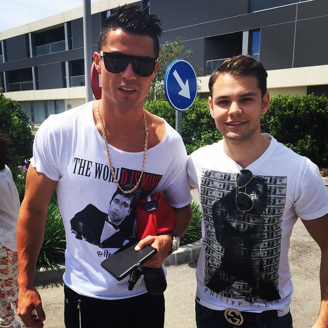 Cristiano Ronaldo With Fan At Valdebebas Today Instagram