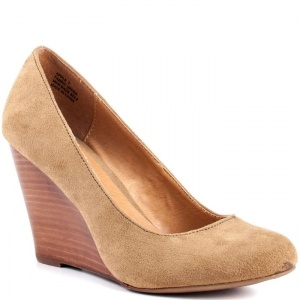 Zigi Girl Apple Wedge Heels Womens Taupe - $64.99 ONLY.