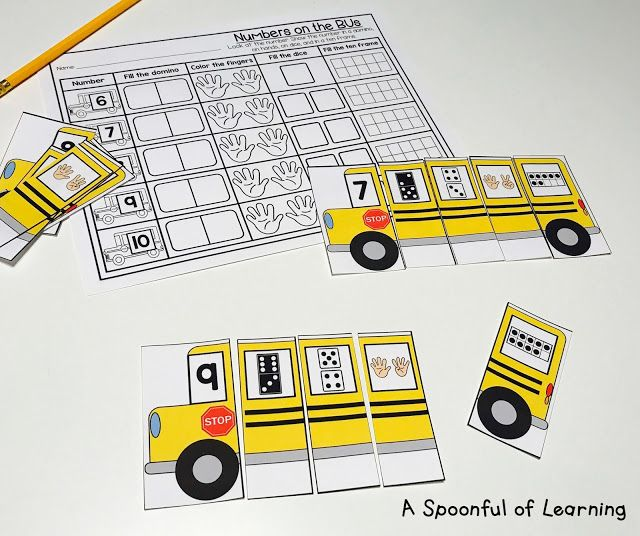 Back to School Math and Literacy Centers First Grade