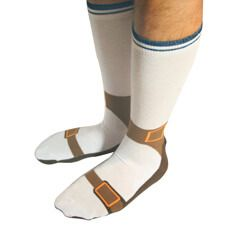 Get away with wearing socks and sandals with these Sandal Socks!