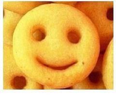 Yuma-yuma-yum I love smiley face fries!!!!